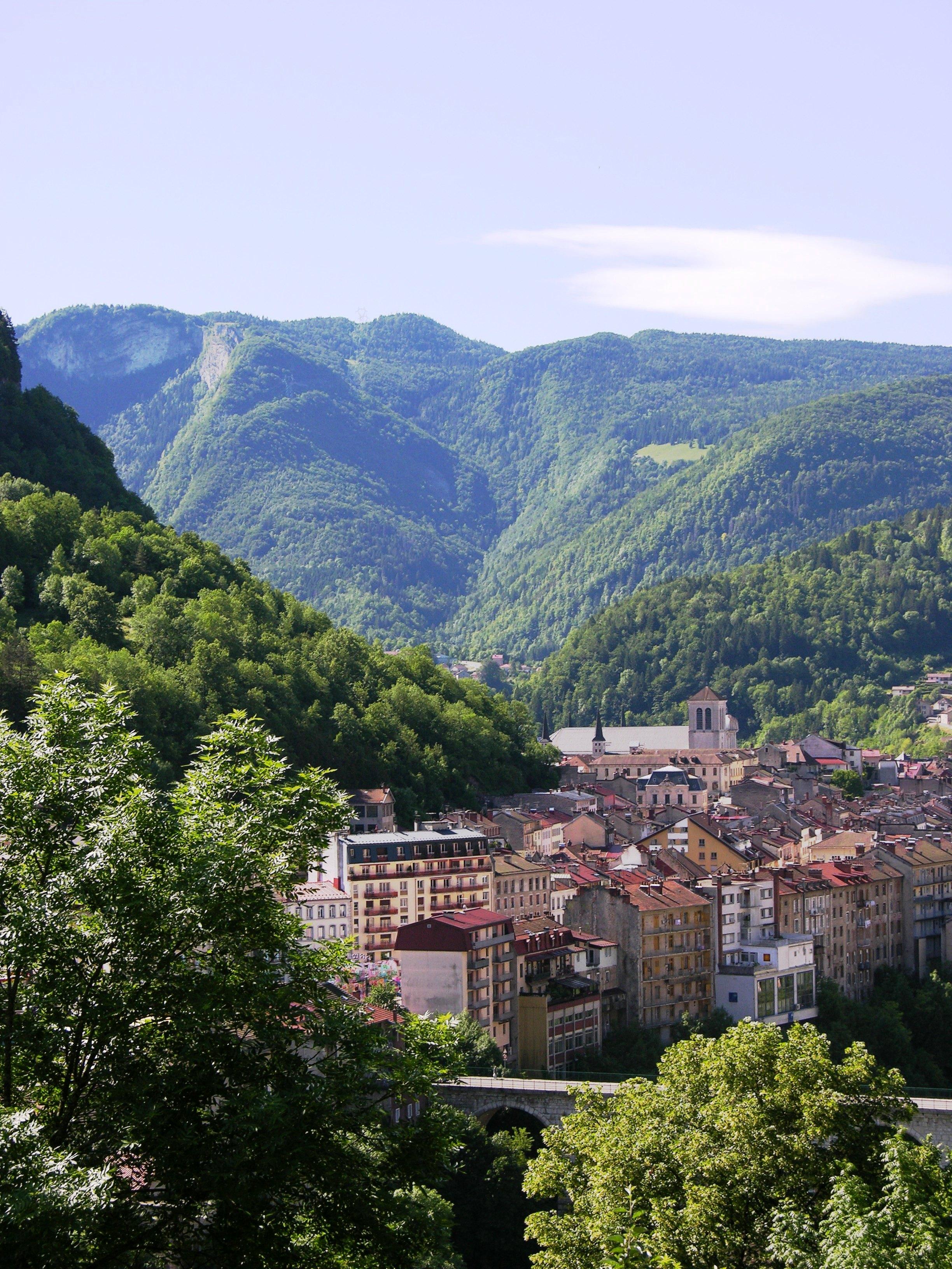 En bref saint la ville grandeur nature for La ville nature
