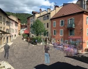 Une guinguette Place de Château ?