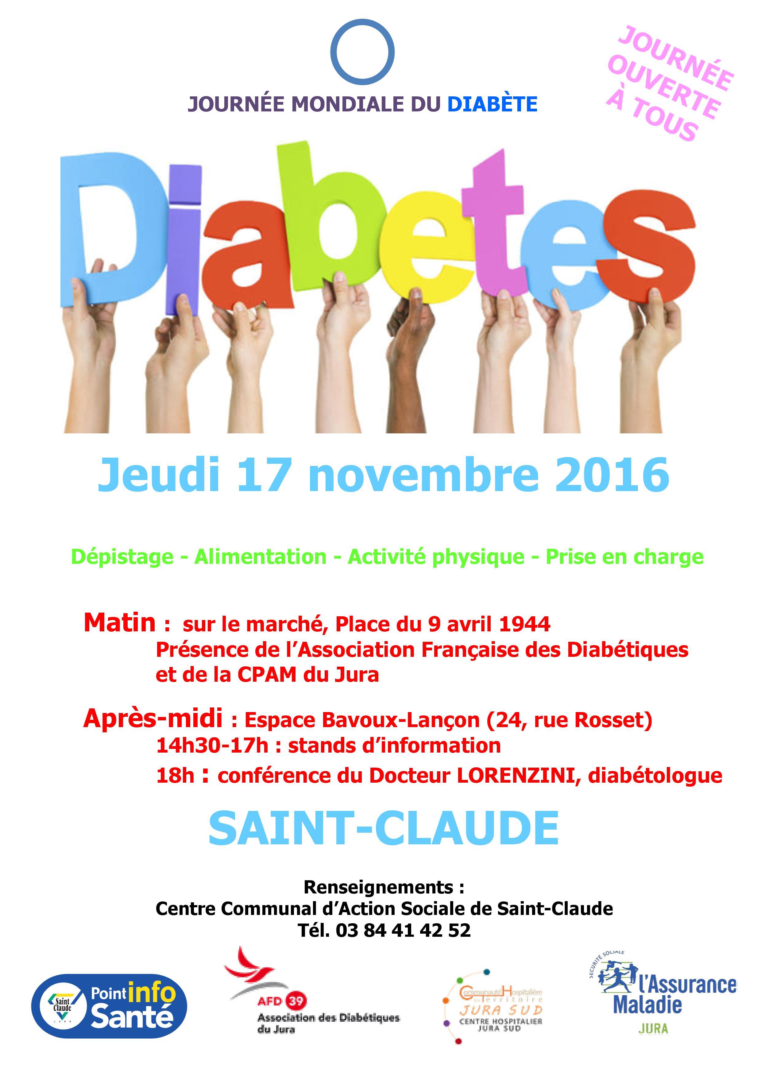 association diabete jura