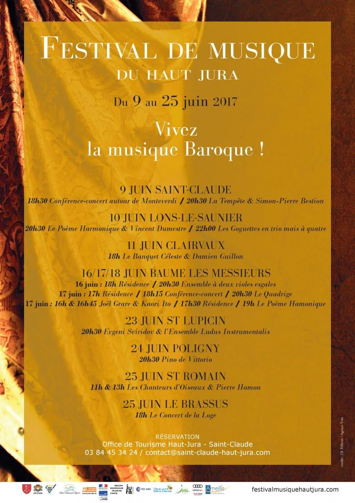 Festival de musique du haut jura saint la - Office de tourisme haut jura saint claude ...