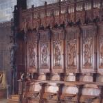 Cathédrale et ses stalles © Ville de Saint-Claude