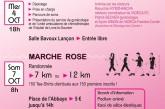 Octobre Rose à Saint-Claude