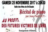 Comité de défense et de soutien de l'hôpital de Saint-Claude : concert