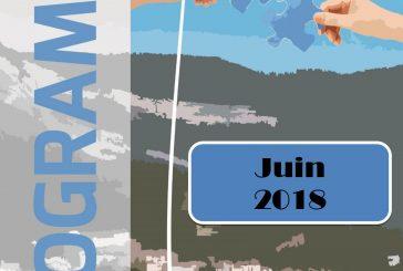 Espace Mosaïque : programme de juin 2018
