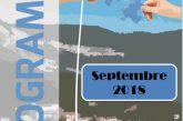 Espace Mosaïque : programme de septembre 2018