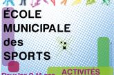École Municipale des Sports : inscrivez votre enfant pour les vacances de printemps 2019