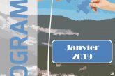 Espace Mosaïque : programme de janvier 2019