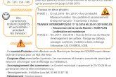 REQUALIFICATION DU CŒUR DE VILLE | Lettre INFO TRAVAUX N°2 – Décembre 2018