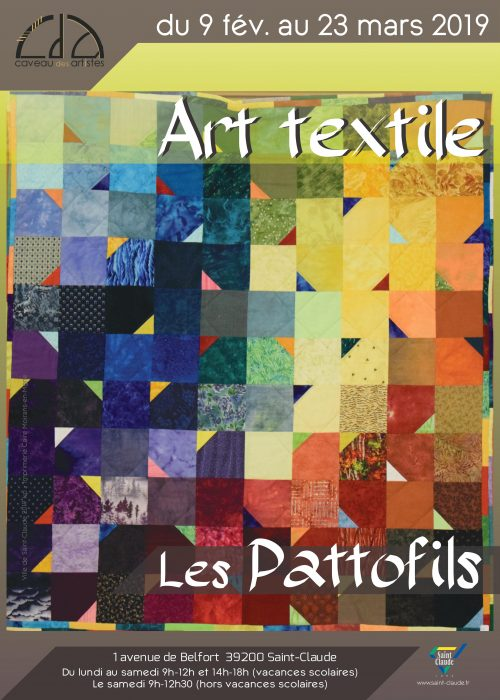 Expo Les Pattofils - Affiche