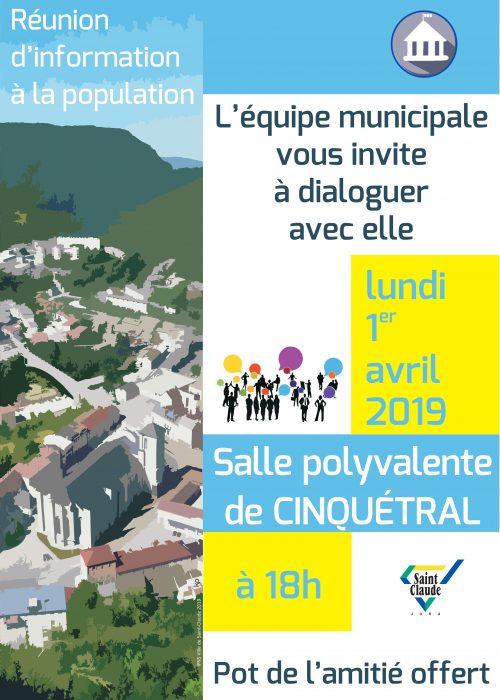 RI Cinquétral 2019 - Affiche