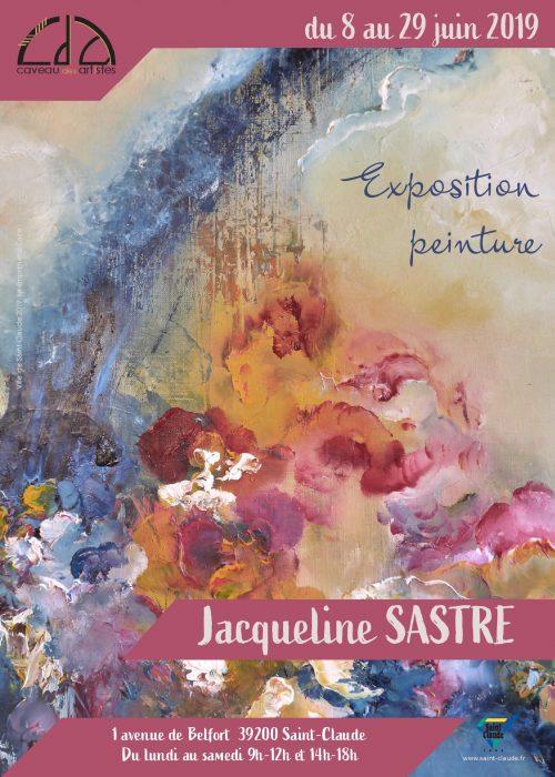 Expo Jacqueline Sastre - Affiche