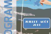 Espace Mosaïque : programme de juillet/août 2019