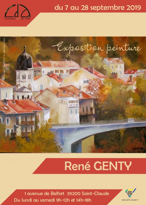 Expo René Genty - Affiche