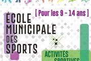 École Municipale des Sports : inscrivez votre enfant pour les vacances de la Toussaint 2019