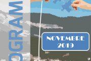 Espace Mosaïque : programme de novembre 2019