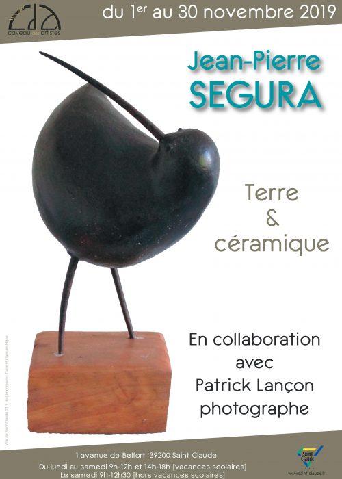 Expo Jean-Pierre Segura - Affiche