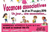 Maison des Associations : vacances associatives
