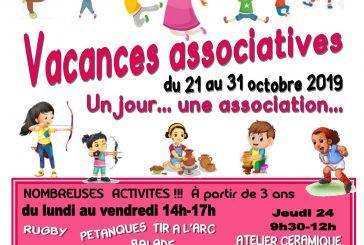 Maison des Associations : vacances associatives