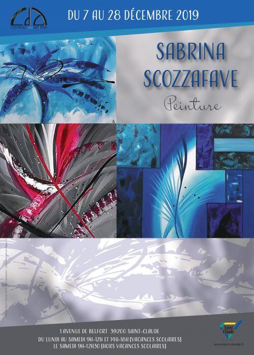 Expo Sabrina Scozzafave - Affiche