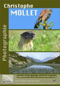 Affiche expo C. Mollet