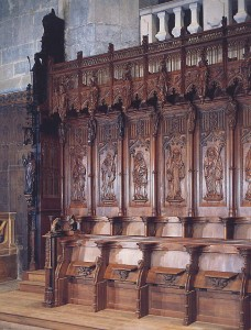 Cathédrale et ses stalles
