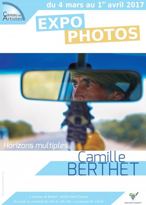 Expo Camille Berthet - Affiche