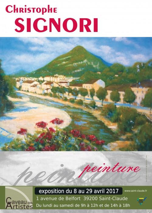 Expo C. Signori - Affiche