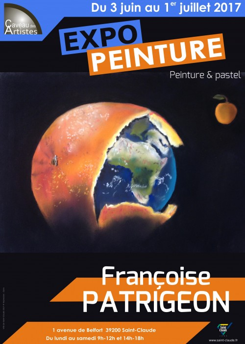 Expo F. Patrigeon - Affiche