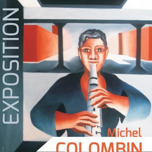 Expo M. Colombin - Affiche