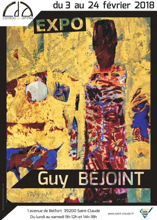 Expo G. Béjoint - Affiche