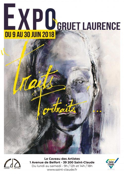 Expo L. Gruet - Affiche