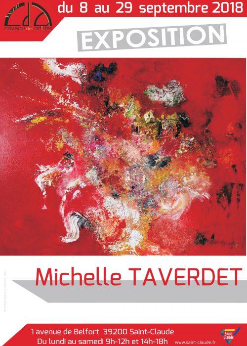 Expo M. Taverdet - Affiche