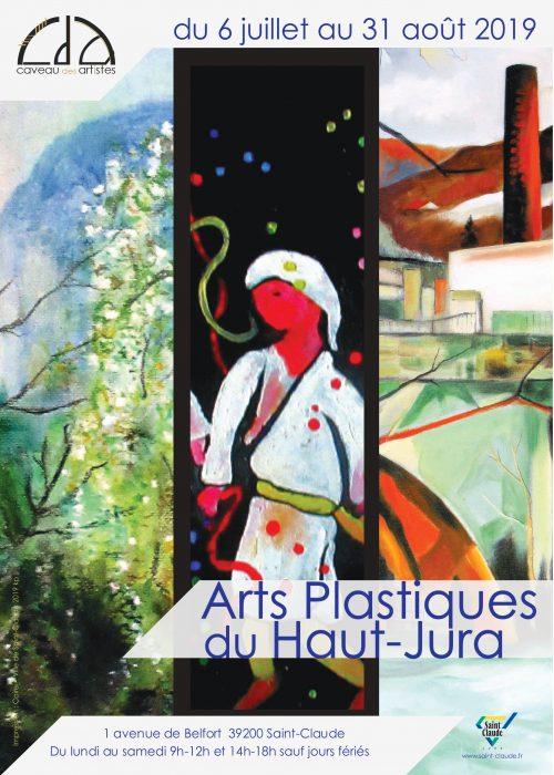 Expo Arts plastiques du Haut-Jura - Affiche