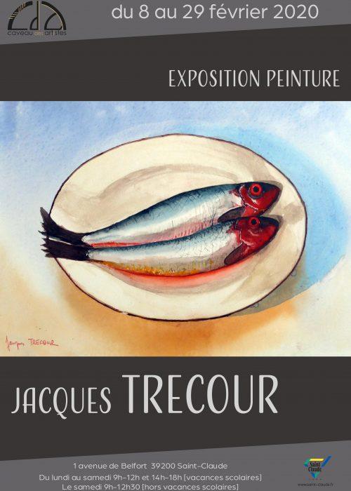 Expo Jacques Trecour - Affiche