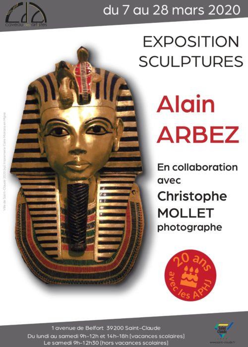 Expo Alain Arbez - Affiche