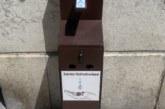 Des distributeurs de gel hydroalcoolique à votre disposition en centre-ville