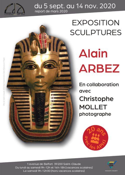 Expo prolongée Alain Arbez - Affiche