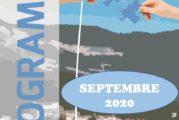 Espace Mosaïque : programme de septembre 2020