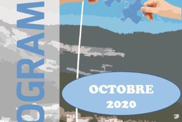 Espace Mosaïque : programme d'octobre 2020