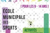 École Municipale des Sports : inscrivez votre enfant pour les vacances d'hiver 2021