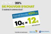 Achetezasaintclaude.fr : opération chèques-cadeaux