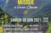 Fête de la Musique, édition 2021 à Saint-Claude