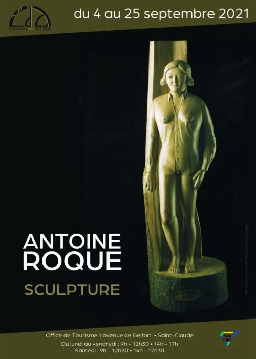 Expo Antoine Roque - Affiche