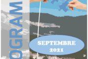 Espace Mosaïque : programme de septembre 2021