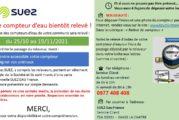 Habitants de Saint-Claude : votre compteur d'eau bientôt relevé